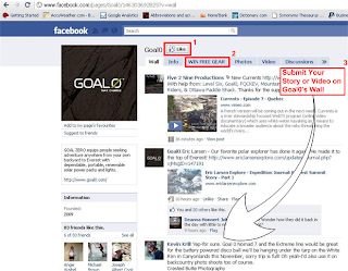 Goal0 Facebook Page