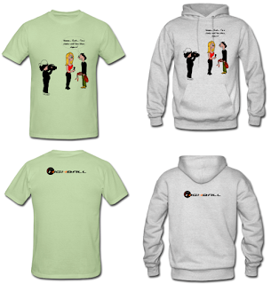 Climbing T-shirt and Hoodie - Boobs and Slopers