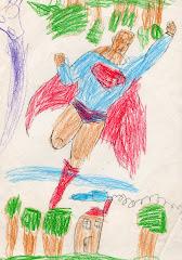 Superman coloreado por Chemita.