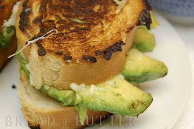 Bread + Butter: Grilled Cheese and Avocado