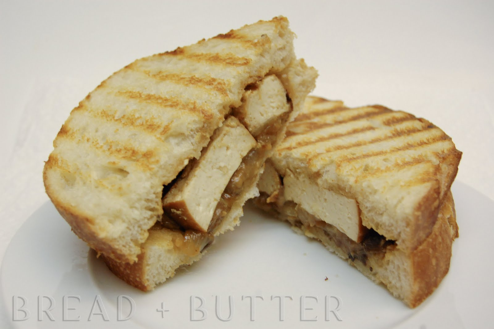 Bread + Butter: Marinated Broiled Tofu Sandwich