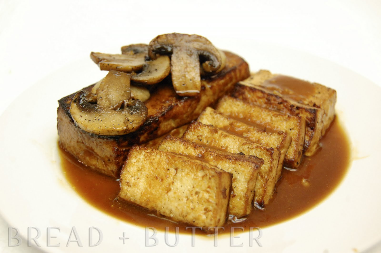 Bread + Butter: Pan-Fried Tofu