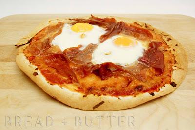 Bread + Butter: Lavash Breakfast Pizza