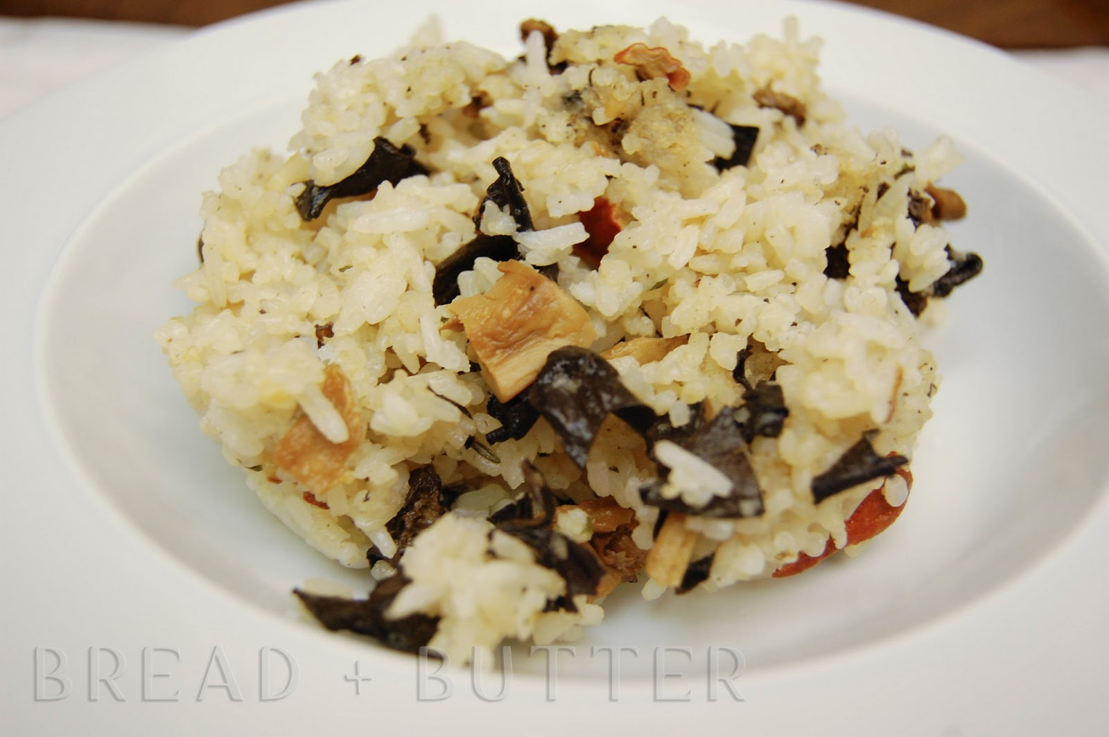 Bread + Butter: Pinoy Style Wild Mushroom Fried Rice