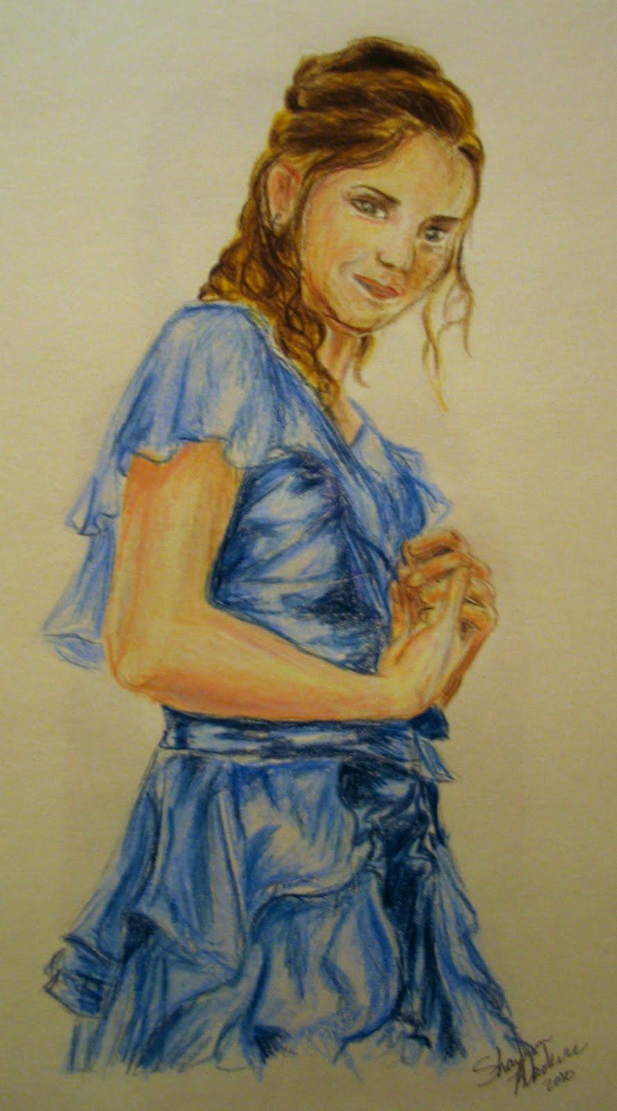 Hermione Granger\u0027s REAL Yule Ball dress