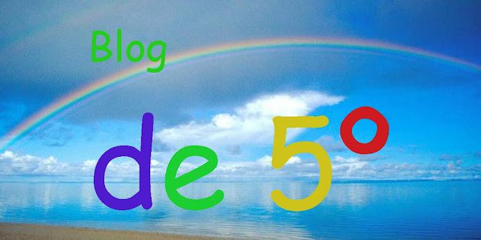 Blog de Aula, 5º
