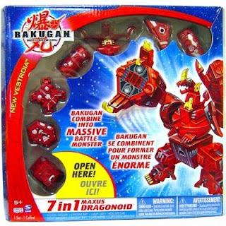 Cheap Bakugan Toys Maxus Dragonoid