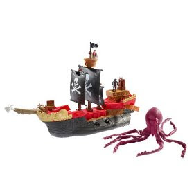 Matchbox Mega Rig Pirates Ship