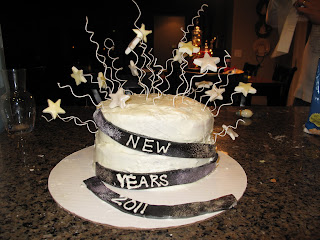 New Years Eve Cake Decorating Ideas