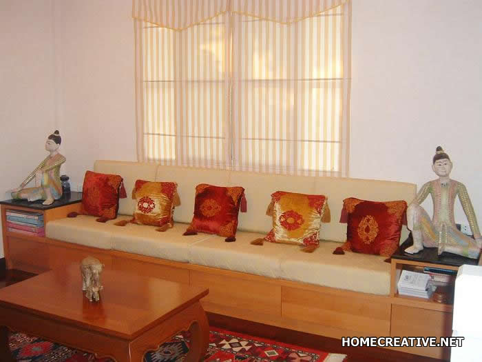 Inspired decoration and life style modern thai interior for Thai style interior design
