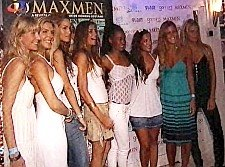 FESTA DA REVISTA MAXMEN JULHO 2008 NA COSTA DA CAPARICA