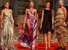 CARLA MATADINHO, ISABEL FIGUEIRA, ORSI FEHER E CLAUDIA BORGES NO SINTRA FASHION 2008