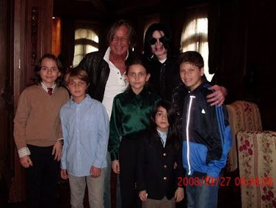 Prince Michael Jackson II aka Blanket Funeral Photo