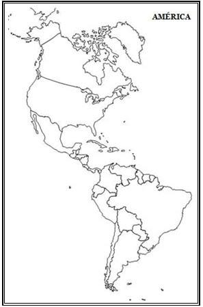 GEOGRAFIA EM FOCO Continentes Mapas Mudos