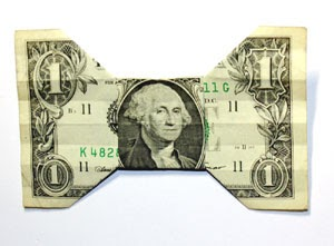 Easy Origami Turtle Dollar Bill