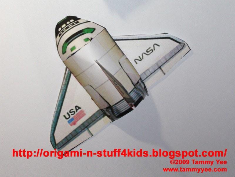 space shuttle craft ideas - photo #18