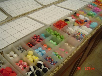 A little Sample of a Bead Party!