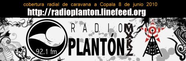 Sigue a la Caravana  Humanitaria x Radio Plantón