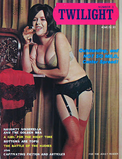 Vintage adult magazines can