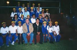 Con nuestro Padrino Luis Castañeda Lossio
