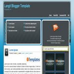 Blogspot Business Langit Template