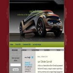 Citroen Blogspot Template