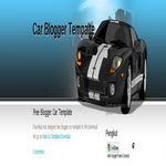 Sport Car Blogspot Template