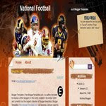 National Football blogspot Template