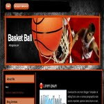 Basket Ball Blogspot blogspot Template
