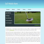Download Golf Website Template