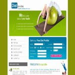 Fitnes CSS Template