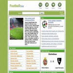 Football CSS Template