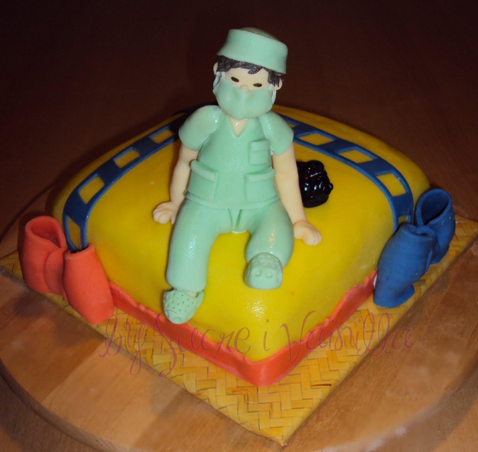 sucre i vainilla - pasteles personalizados: Tárta decorada Médico ...