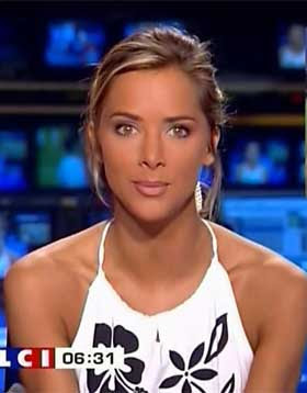 melissa theuriau309 The Top Ten Hottiest Sports Reporters. You be the judge!