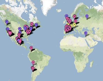Mapa da Gripe Suína!