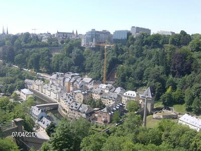 O Plateau - Em Luxemburgo!