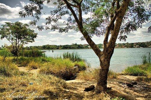 Aspecto da Lindíssima Lagoa da Prata