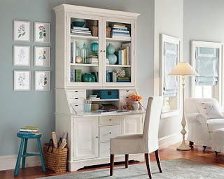 Christine S Favorite Things Painted White Hutch