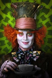 Johnny Depp as the Mad Hatter - Alice in Wonderland