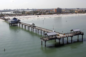 tampabayfish tampa area fishing piers clearwater beach