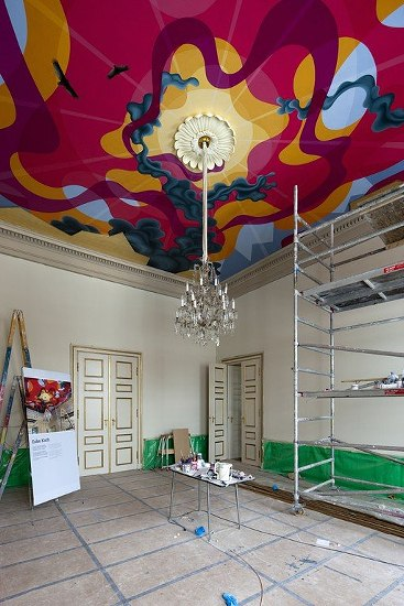 Ceiling dining room