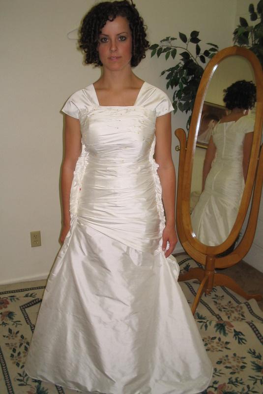 wedding dress diaster