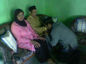 Mendapat restu  Bapak