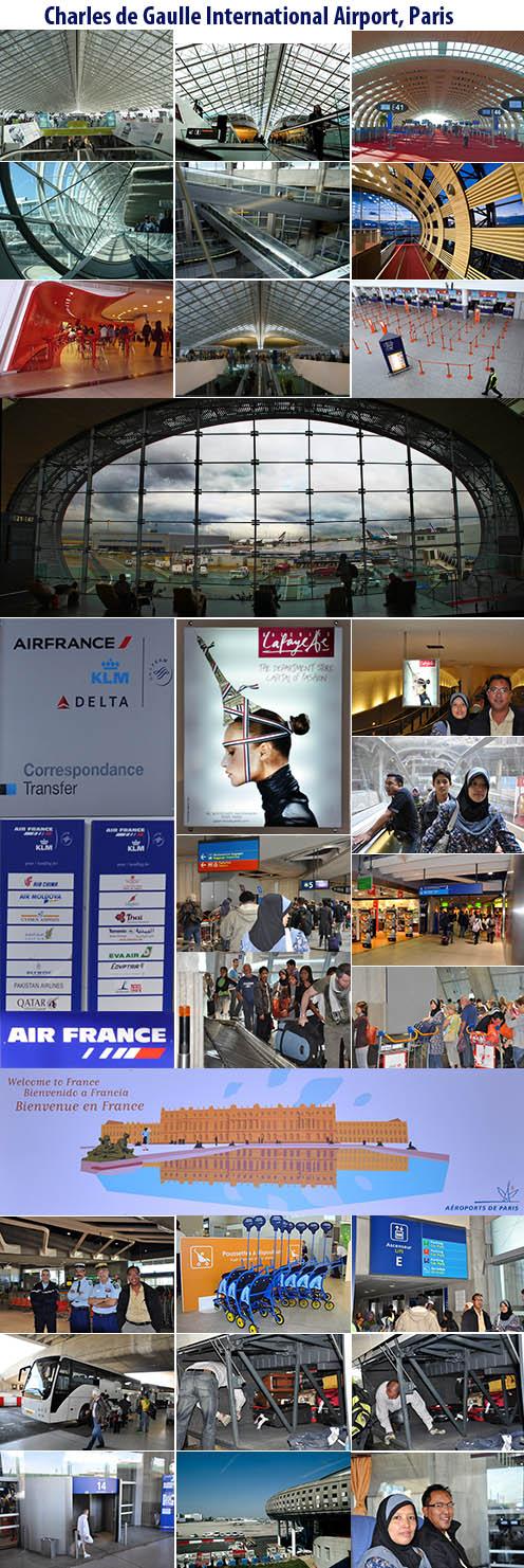 Charles de Gaulle Airport, Paris, France