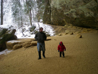 Eric and Nick at Ash Cave