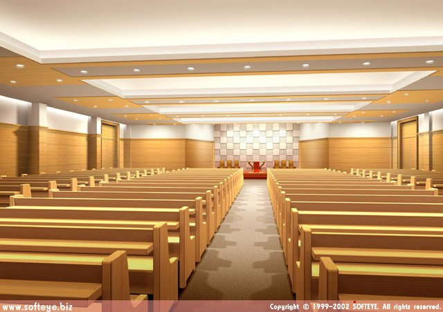 Contemporary decor for church sanctuary joy studio for Church interior designs pictures
