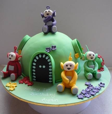 Love And Cake Teletubbies Makes Four