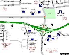 map - peta taman seri keramat tengah au4 lembah keramat.