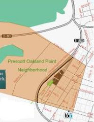Prescott-Oakland Point Area Map