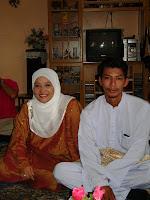 Majlis Pertunangan Milah dan Sham